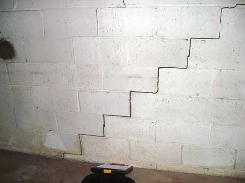 Cracking the code potential causes of cracks in for Block wall foundation